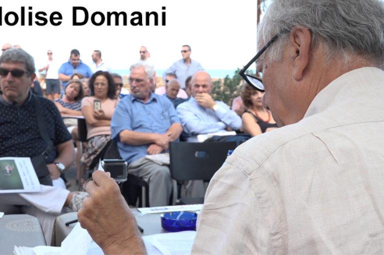 """Famiano Crucianelli spiega il progetto """"Molise Domani"""""""