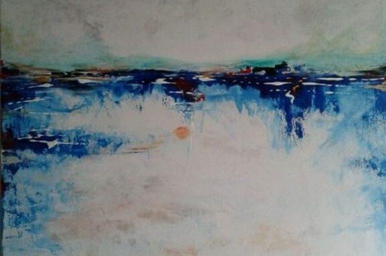 "Tela:  ""ice"" di Viviana De Rosa"