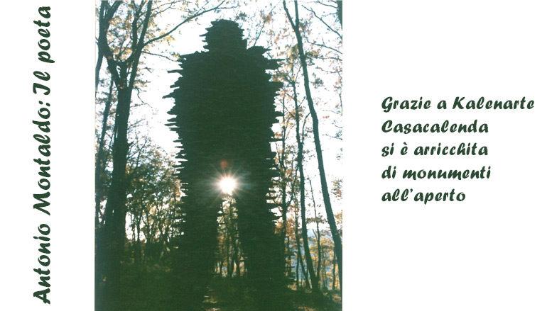 Foto Antonio Montaldo: Il poeta