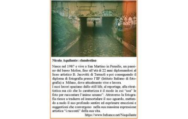 Nicola Aquilante: clandestino