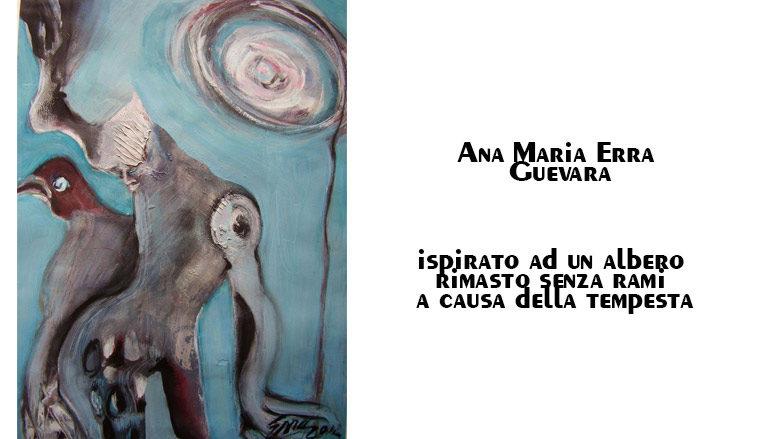 Ana Maria Erra Guevara: ispirato ad un albero rimasto senza rami a causa della tempesta.