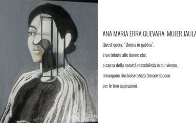 "Ana Maria Erra Guevara: Mujer Jaula ""Donna in gabbia"""