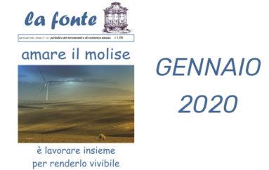 Indice del numero 168 – Gennaio 2020