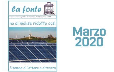 Indice del numero 170 – Marzo 2020