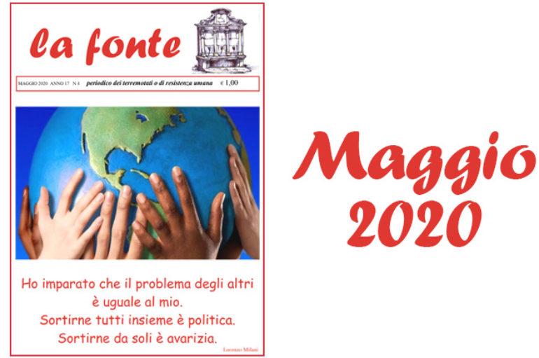 Indice del numero 171 – Maggio 2020