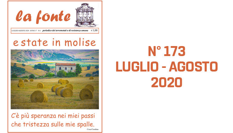 Indice del numero 173 – Luglio-Agosto 2020