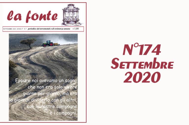 Indice del numero 174 – Settembre 2020