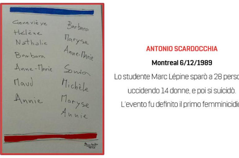 Antonio Scardocchia: Montreal 6/12/ 1989