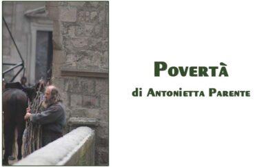 Foto Antonietta Parente: povertà