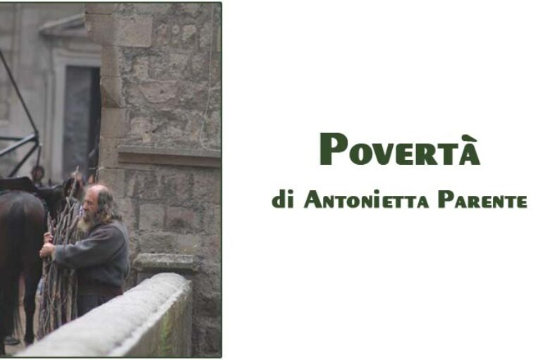 Foto Antonietta Parente: povertà